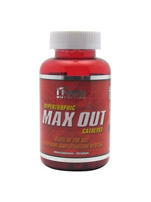 iForce Nutrition Hypertrophic Max Out Catalyst - Maxout 100 Softgels
