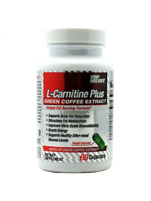 Top Secret Nutrition L-Carnitine Plus Green Coffee Extract 60 Caps
