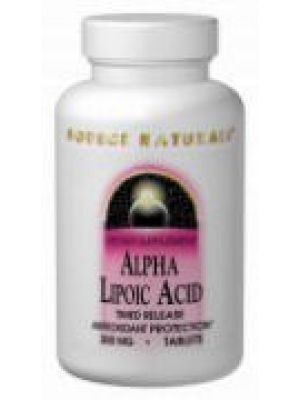 Source Naturals Alpha Lipoic Acid 200mg 60 Tabs