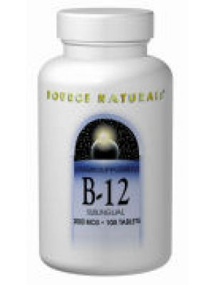 Source Naturals B-12 Sublingual 2000mcg 100 Tablets