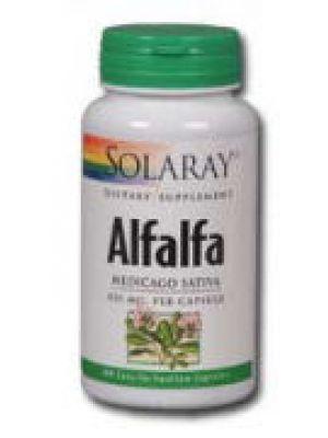 Solaray Alfalfa 490mg 100 Caps