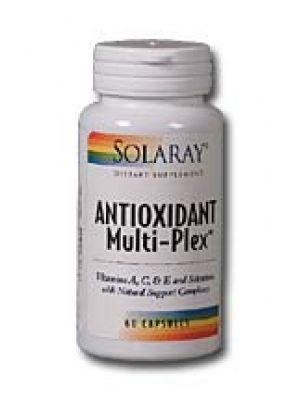 Solaray Antioxidant Multi-Plex 60 Caps