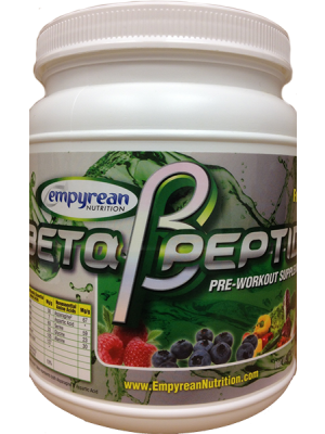 Empyrean Nutrition Beta Peptide Fruit Punch 600 Grams