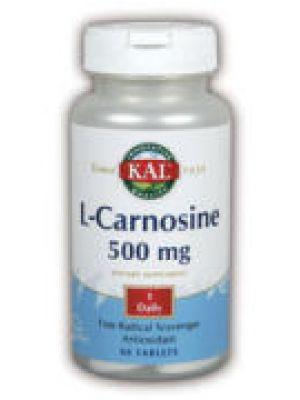 Kal L-Carnosine 500mg 30 Tabs
