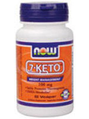 Now Foods 7-Keto 100mg 60 Vege Caps