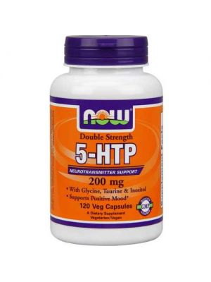 Now Foods 5-HTP 200 Mg 120 Vegetable Capsules