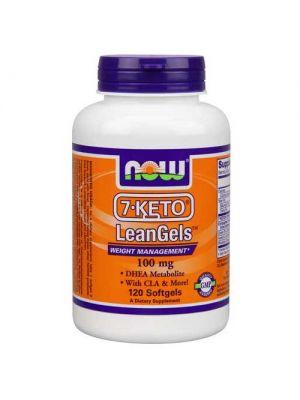 Now Foods 7-Keto 100 Mg Leangels 120 Softgels