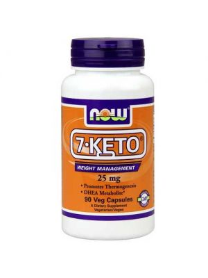 Now Foods 7-Keto 25 Mg 90 Vegetable Capsules