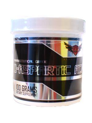 Omega Sports D-Aspartic Acid 100 Grams