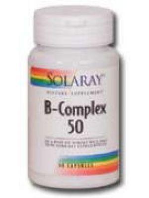 Solaray B-Complex 50 50 Caps
