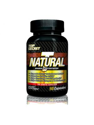 Top Secret Nutrition Natural T 90 Caps