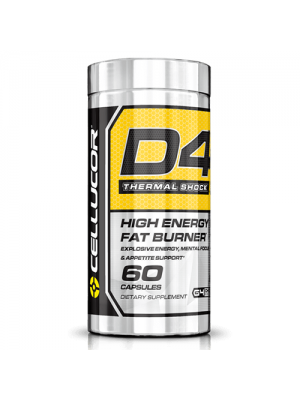 Cellucor D4 Thermal Shock 60 Caps