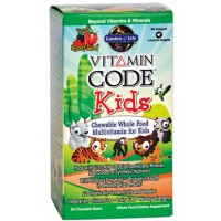 Garden of life vitamin code kids 30 chews - Garden of life vitamin code kids ...