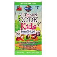 Garden of life vitamin code kids 60 chews - Garden of life vitamin code kids ...