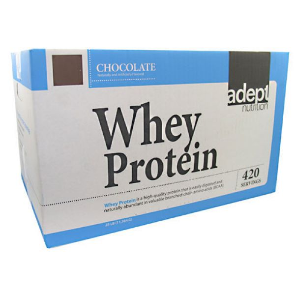 Adept Nutrition Whey Protein 25 Lbs