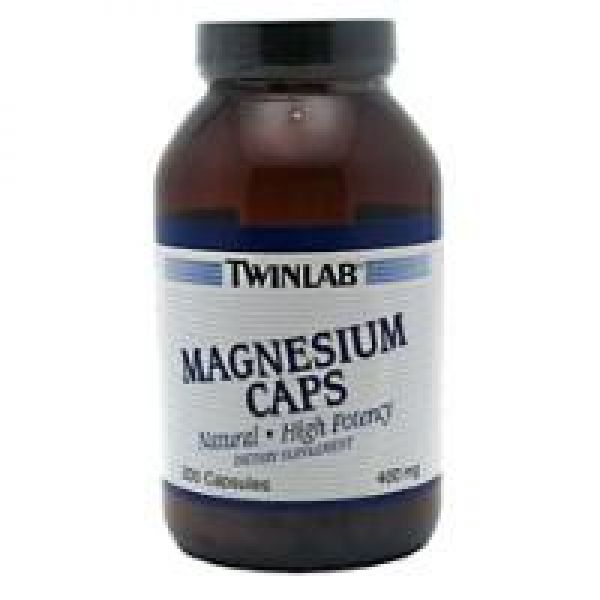 Twinlab Magnesium 400mg 200 Caps
