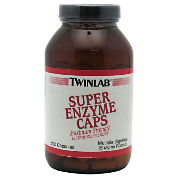Twinlab Super Enzyme 200 Caps