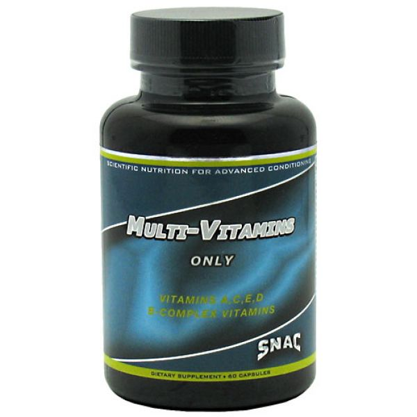 SNAC System Multi-Vitamins Only 60 Caps