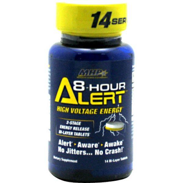 MHP 8-Hour Alert  1 bottle - 14 Bi-Layer Tablets