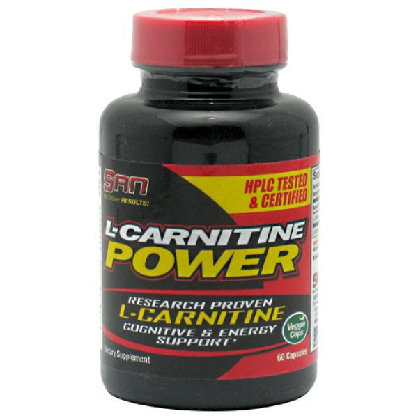 SAN L-Carnitine Power  60 Capsules