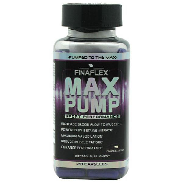Finaflex (redefine Nutrition) Max Pump 120 Caps