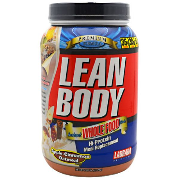Labrada Nutrition Lean Body Instant Whole Food
