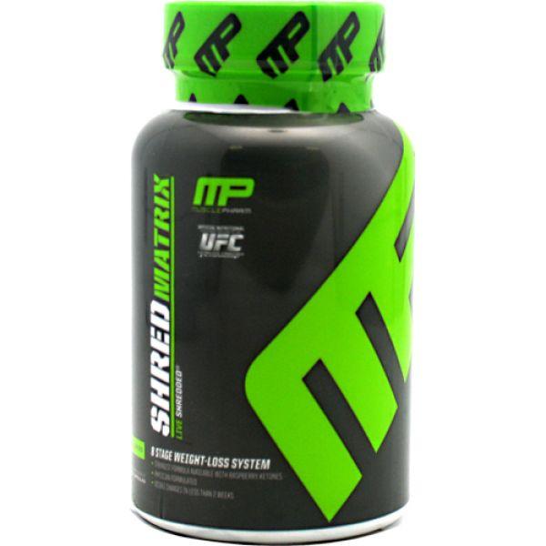 Muscle Pharm Shred Matrix 60 Caps
