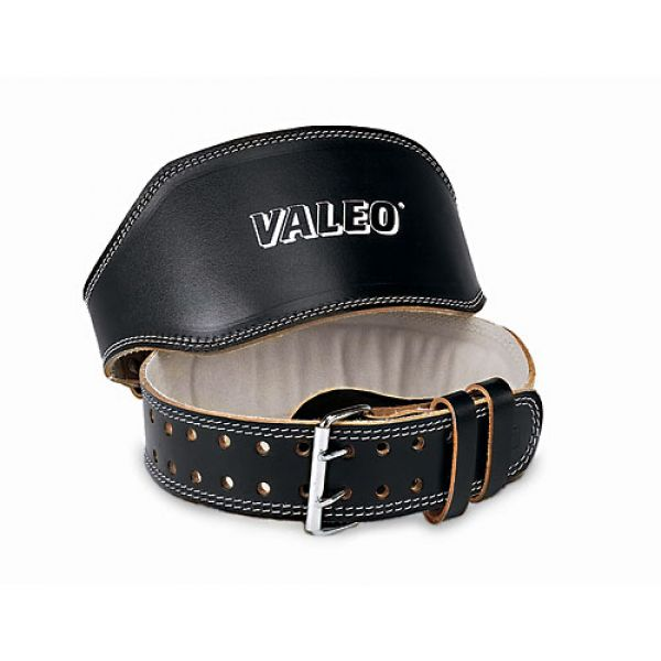 Valeo Lifting Belt 6 Inch Black