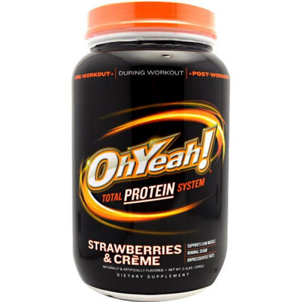 OhYeah! Protein Powder 2.4 Lbs