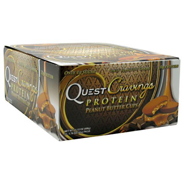 Quest Nutrition Quest Cravings Peanut Butter Cups 12/Box