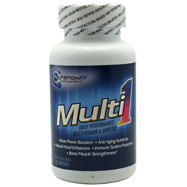 Nutrition 53 Multi 1 120 Caps