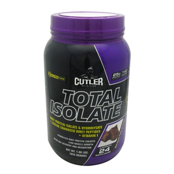 Cutler Nutrition Total Isolate 2 Lbs