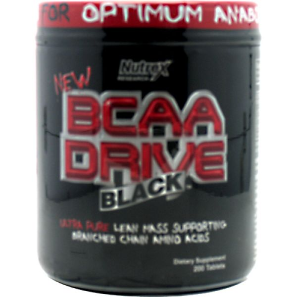 Nutrex Research BCAA Drive Black  200 Tablets
