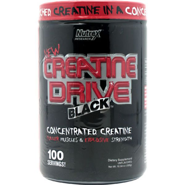 Nutrex Research Creatine Drive Unflavored 100 Servings