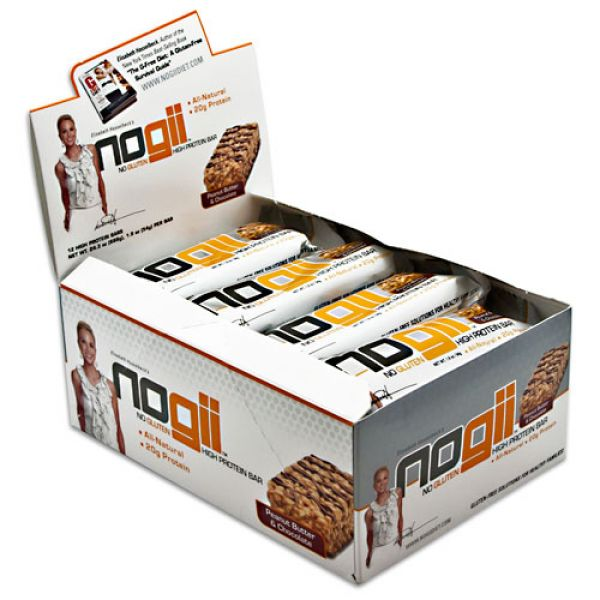 NoGii High Protein Bar Peanut Butter & Chocolate 12/Box