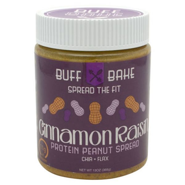 Buff Bake Cinnamon Raisin Protein Peanut Butter Spread 13oz