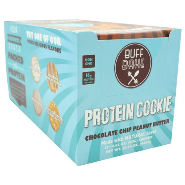 Buff Bake Chocolate Chip Peanut Butter Cookie 12/Box