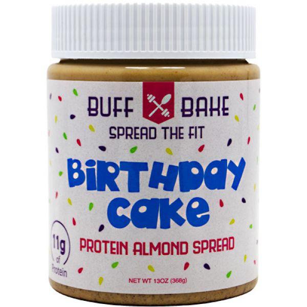 Buff Bake Birthday Cake Protein Almond Spread 13oz