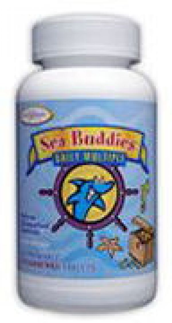 Enzymatic Therapy Sea Buddies Daily Multiple 60 Chewable Splashberry Tablets