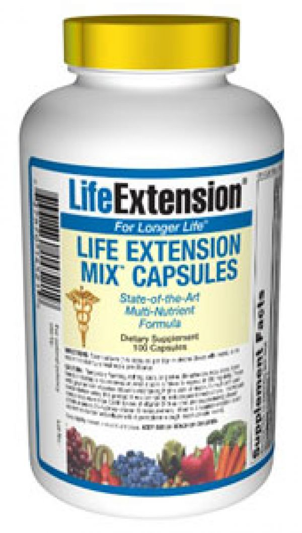 Life Extension Mix CAPS 100 Caps