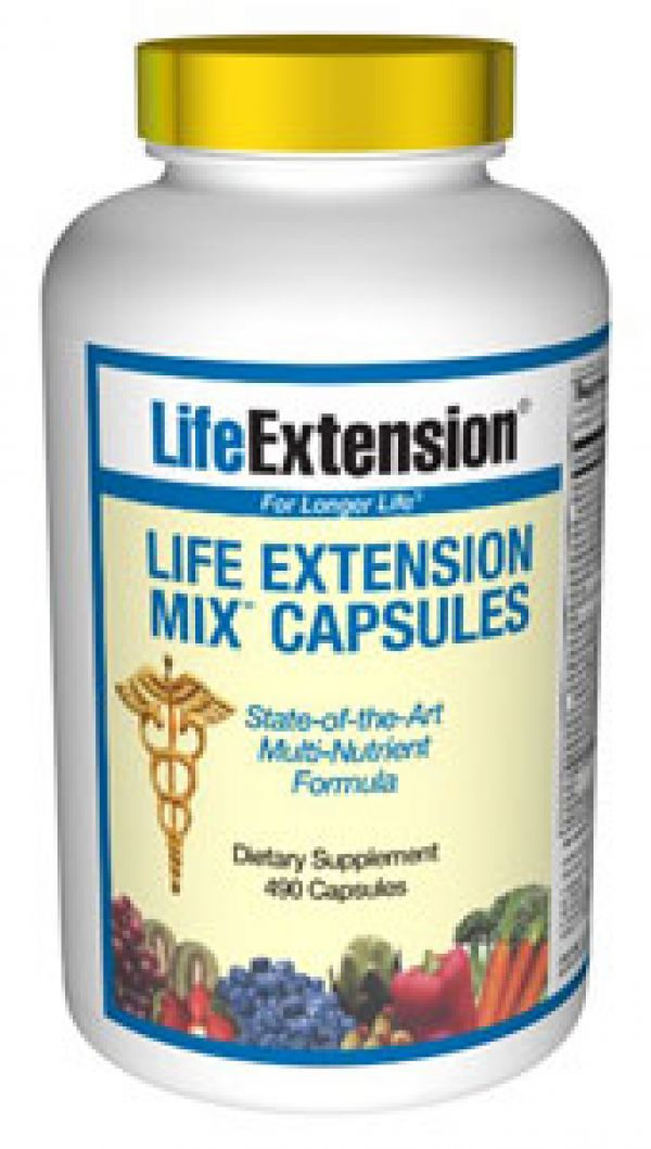 Life Extension Mix CAPS 490 Caps