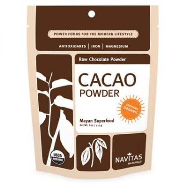 Navitas Naturals Raw Cacao Powder (Certified Organic) 16 Oz