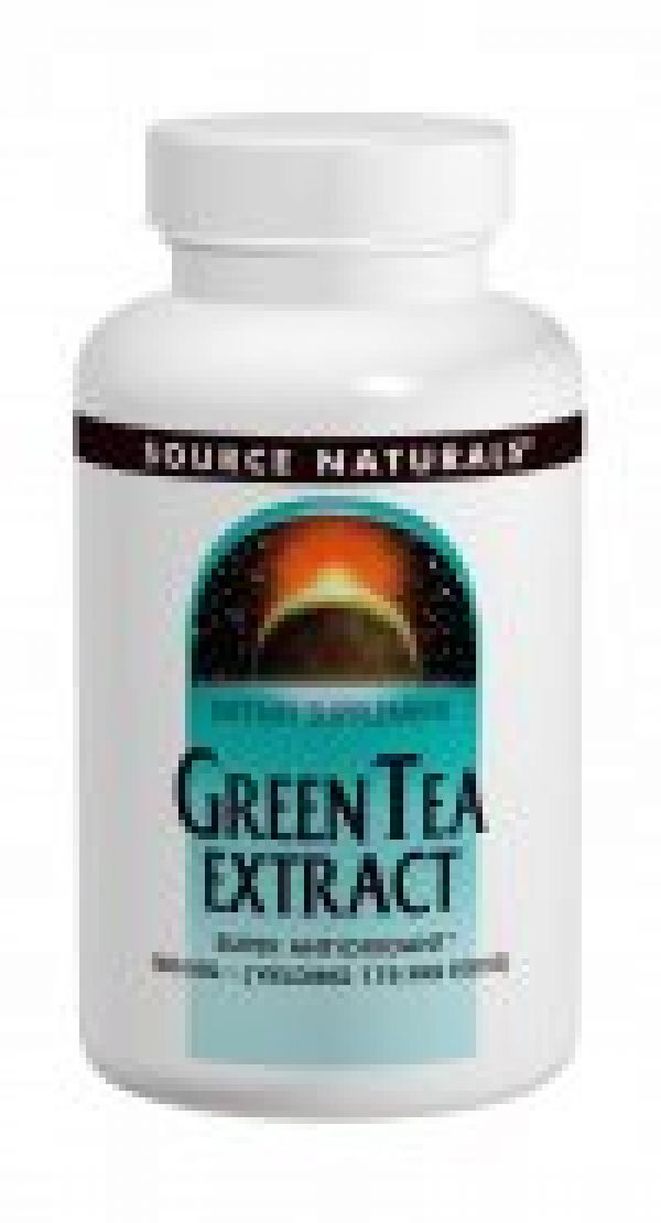 Source Naturals Green Tea Extract (EGCG) 500mg 120 Tabs w/ Catechins