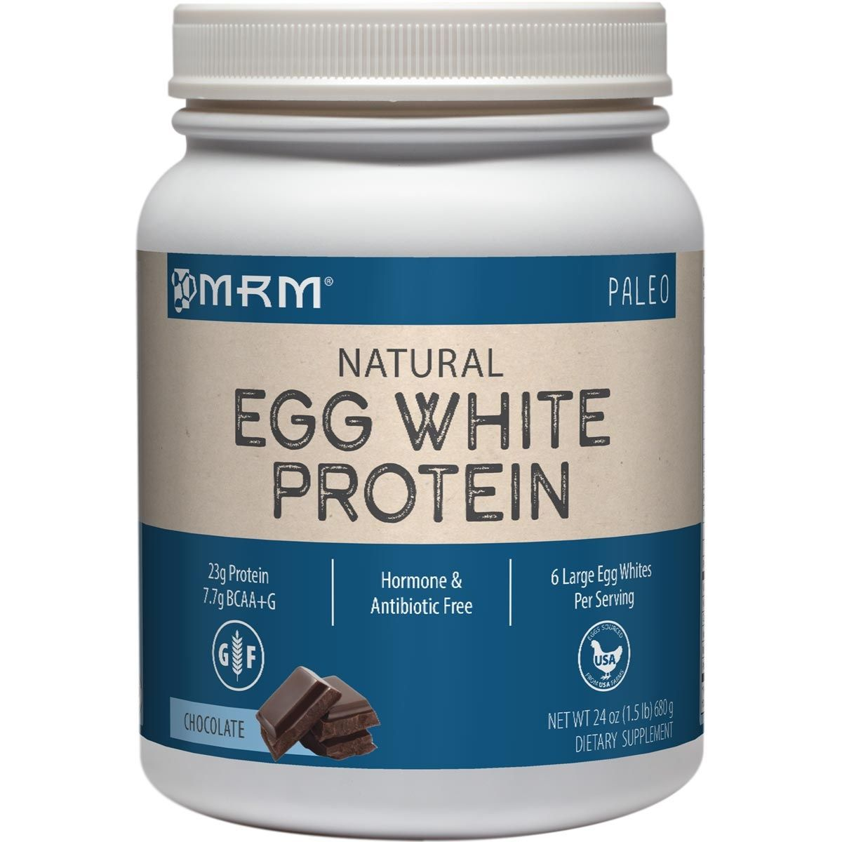 Pure egg white protein powder