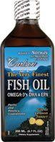 Carlson finest fish oil liquid omega 3 epa dha for Finest nutrition fish oil