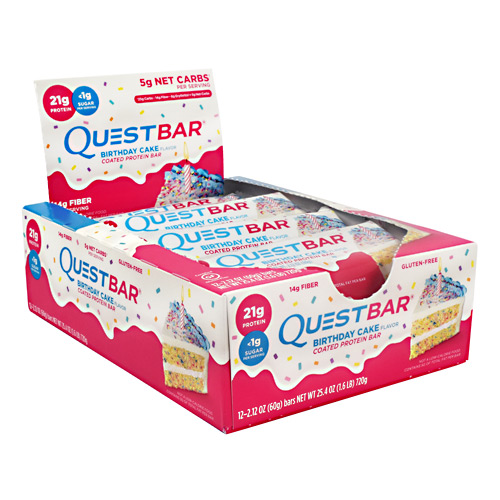 Quest Protein Bars 12/Box