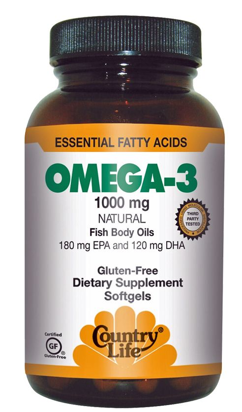 country life omega 3 fish oil essential fatty acids