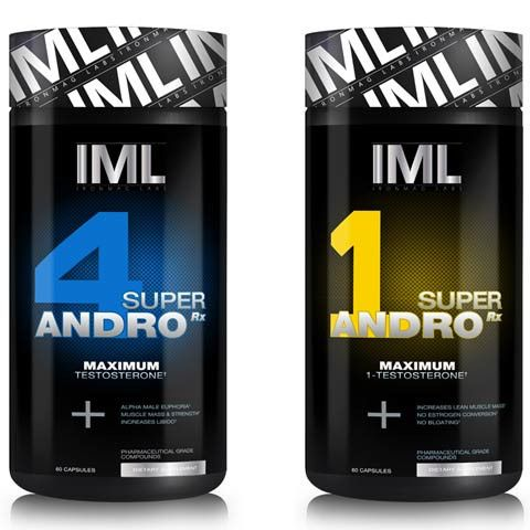 Ironmag Labs Dual Andro Stack Super 1 Andro 4 Andro
