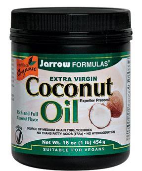 Jarrow Formulas Extra Virgin Coconut Oil MCT