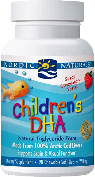 Nordic Naturals Children's DHA Omega Fish Oil SoftGels